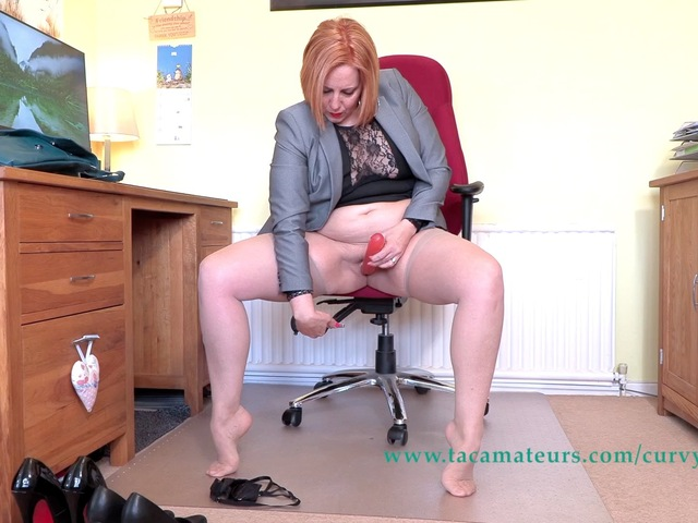CurvyClaire - Home From The Office Fun Pt4