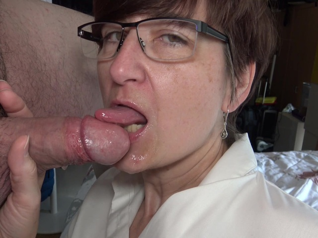 HotMilf - Cum Covered Blouse